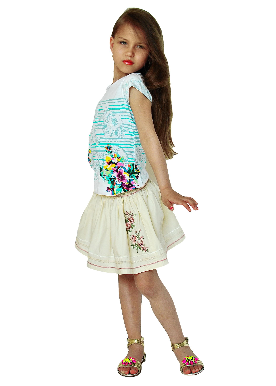 Фото 1: Стильная детская юбка GUESS