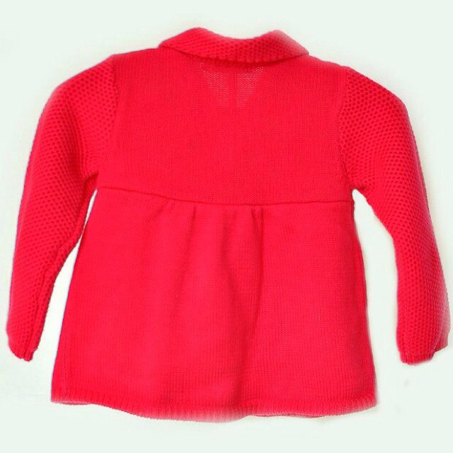 Фото 2: Красный кардиган Kenzo для девочек