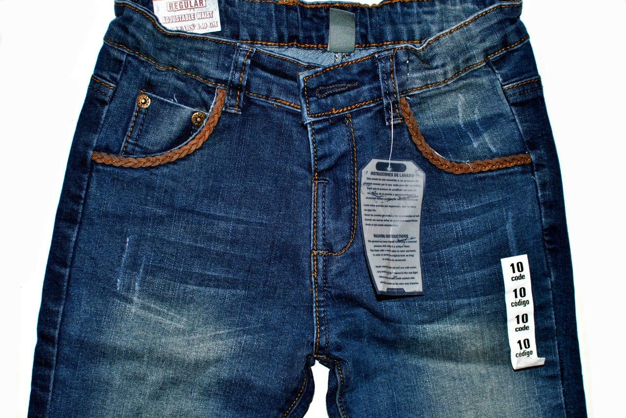 Фото 2: Классические джинсы Zara для девочек