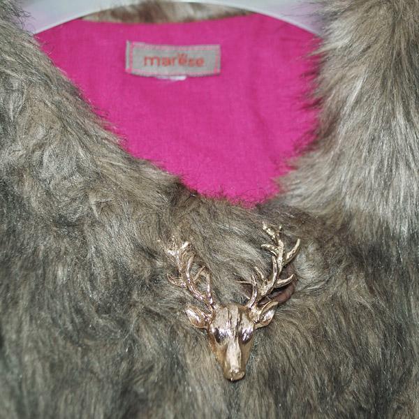 Фото 3: Меховая жилетка ETHIK SISTers для девочек