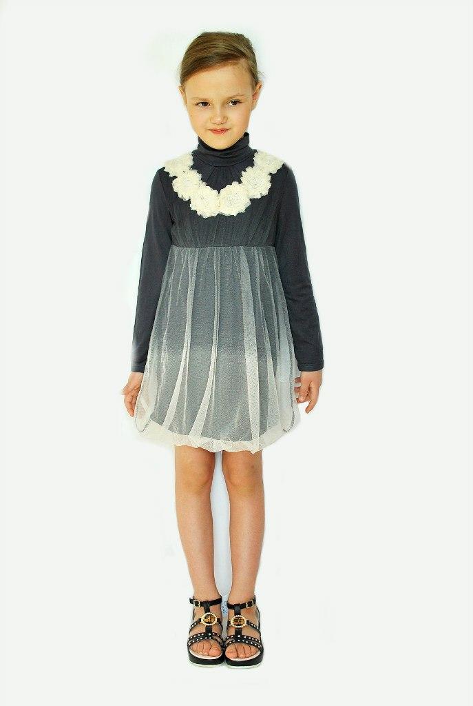 Фото 4: Детское нарядное платье Sisley