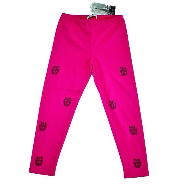 Фото 1: Розовые легинсы для девочек