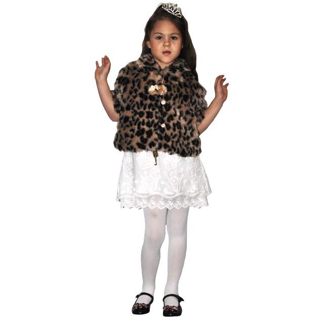 Фото 5: Леопардовая шубка с коротким рукавом TO BE TOO