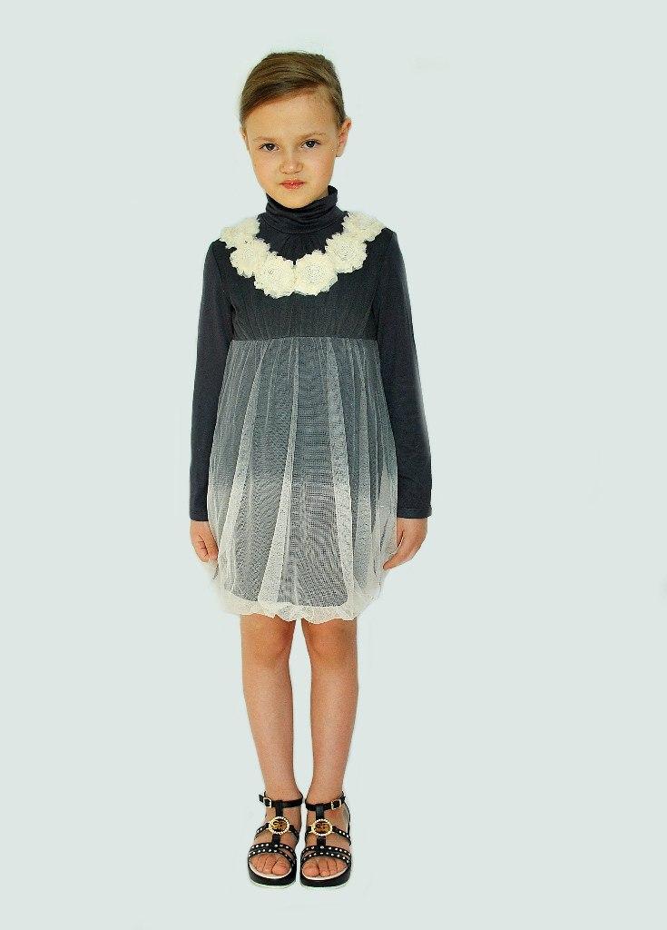 Фото 6: Детское нарядное платье Sisley