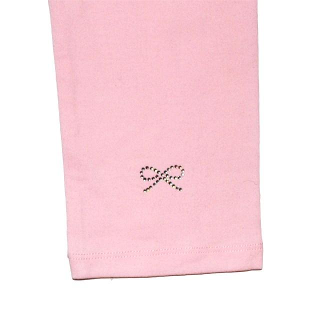 Фото 2: Легинсы Repetto нежно - розовые для девочек