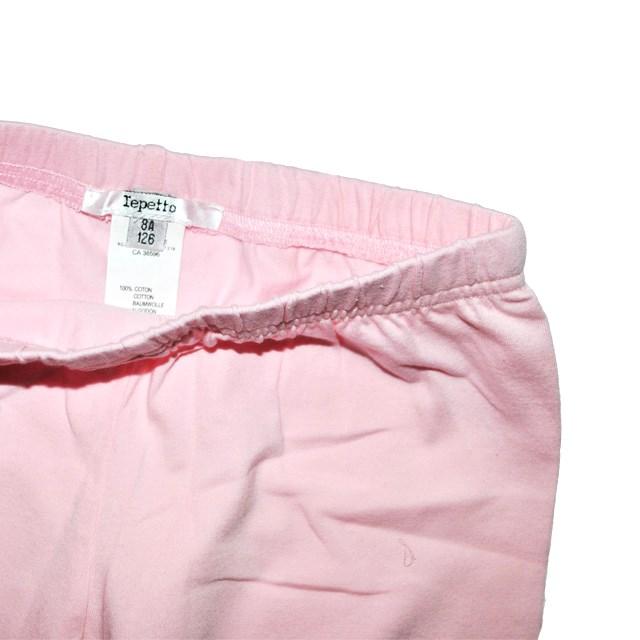 Фото 3: Легинсы Repetto нежно - розовые для девочек