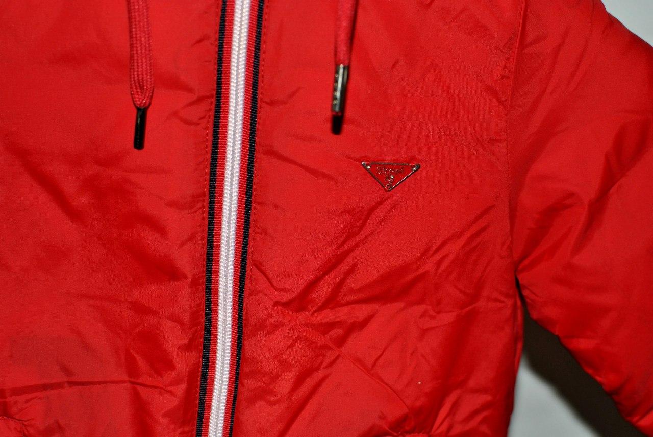Фото 4: Красная детская куртка Street Gang для мальчиков