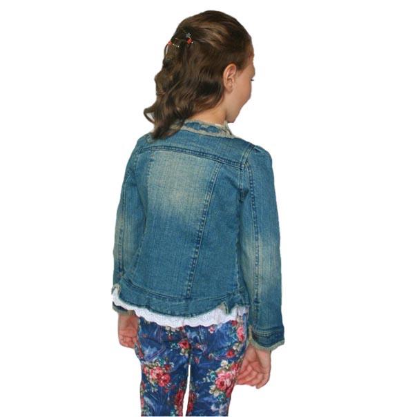 Фото 8: Пиджак джинсовый Guess для девочки