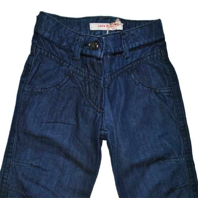 Фото 4: Классические детские джинсы Laura Biagiotti