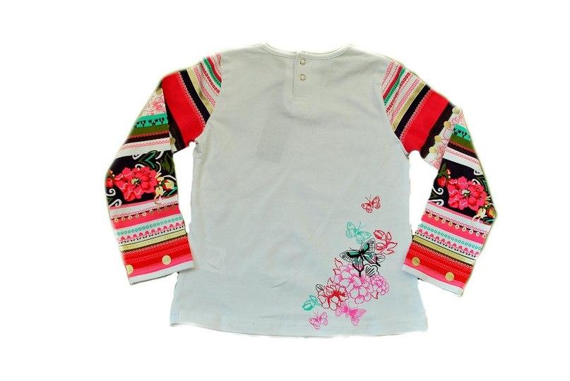 Фото 2: яркая блуза KENZO для девочек