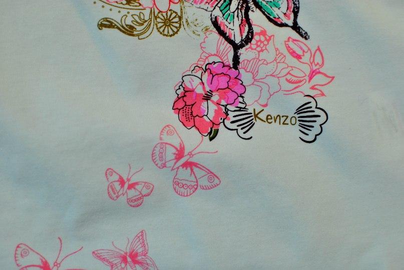 Фото 5: яркая блуза KENZO для девочек
