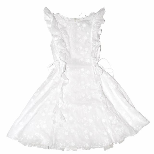 Фото 1: Нарядное белое платье Patrizia Pepe для девочек