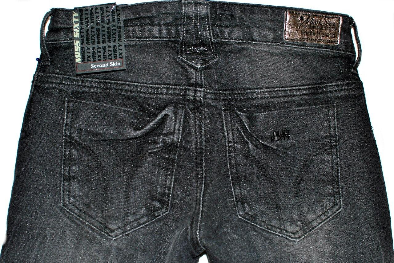 Фото 4: Черные джинсы miss sixty для девочек