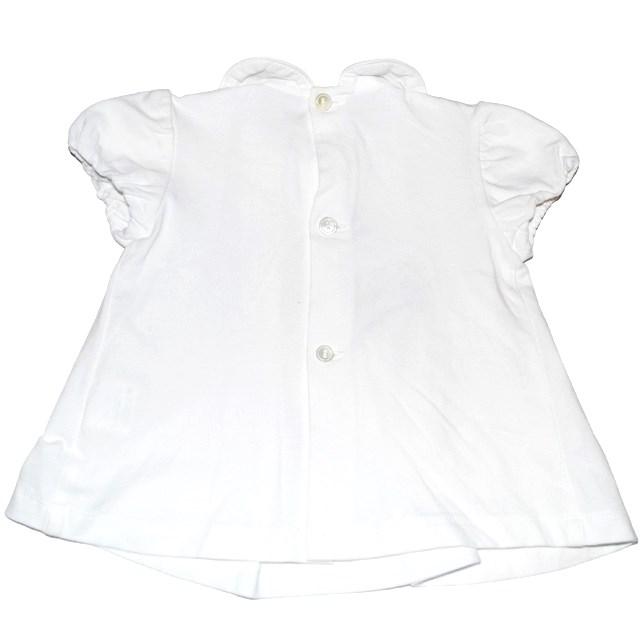 Фото 1: Белое платье для детей 3 мес.