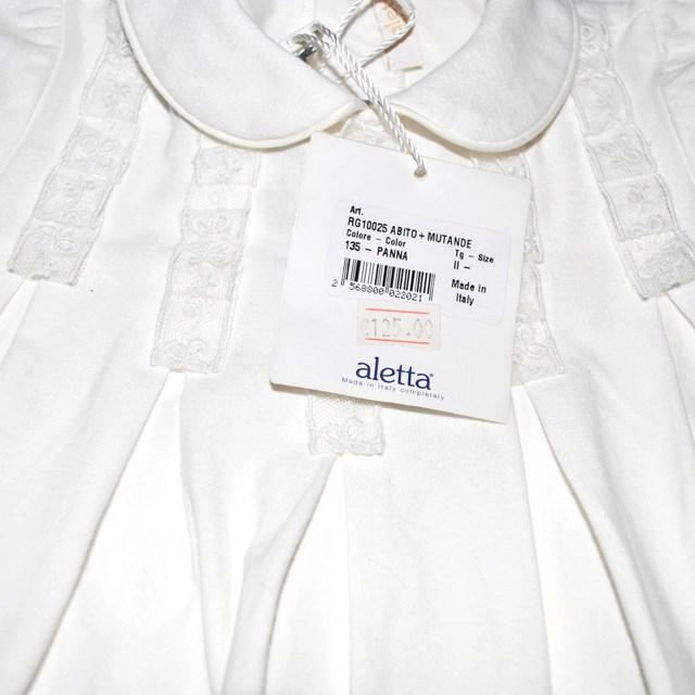 Фото 4: Белое платье для детей 3 мес.