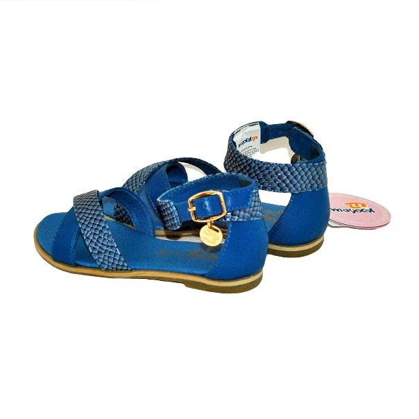 Фото 5: Синие босоножки для девочек Mayoral