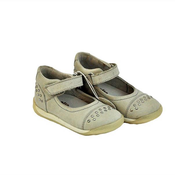 Фото 4: Кожаные детские туфли Naturino