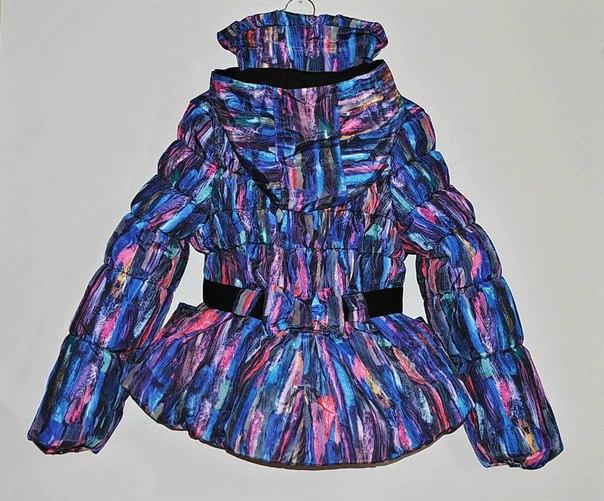 Фото 2: Зимняя куртка Catimini в модной расцветке