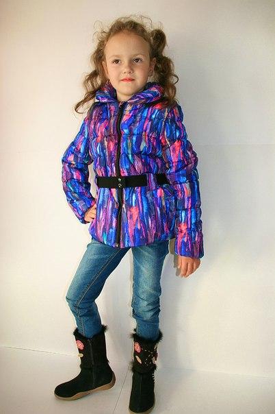 Фото 3: Зимняя куртка Catimini в модной расцветке