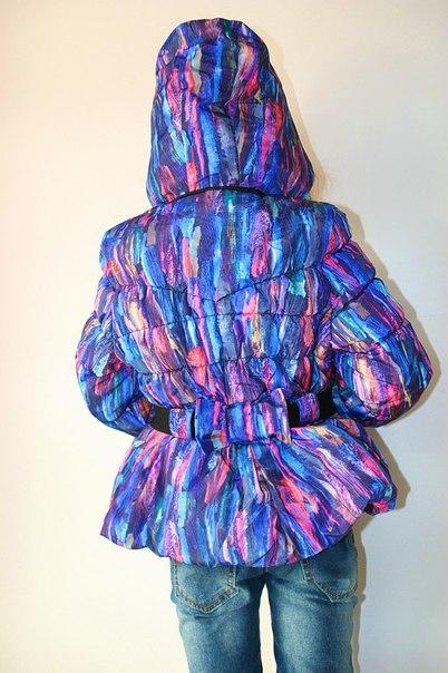 Фото 4: Зимняя куртка Catimini в модной расцветке