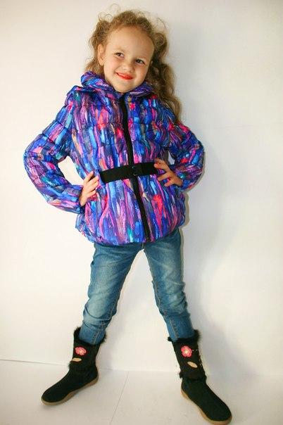 Фото 5: Зимняя куртка Catimini в модной расцветке