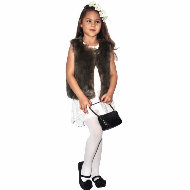 Фото 6: Меховая жилетка ETHIK SISTers для девочек