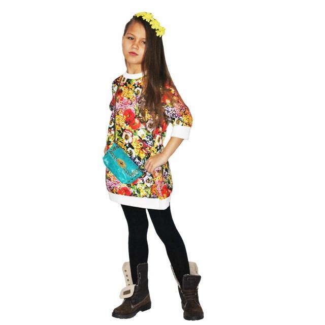 Фото 8: Яркое детское платье Monsoon