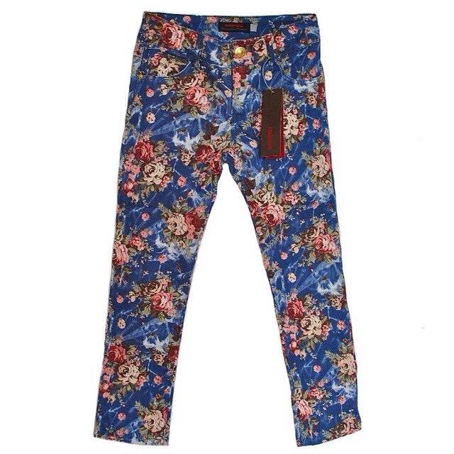 Фото 1: Яркие джинсы Catimini для девочек