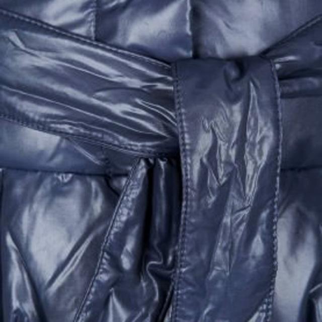 Пуховик Sisley серого цвета. Фото: 3