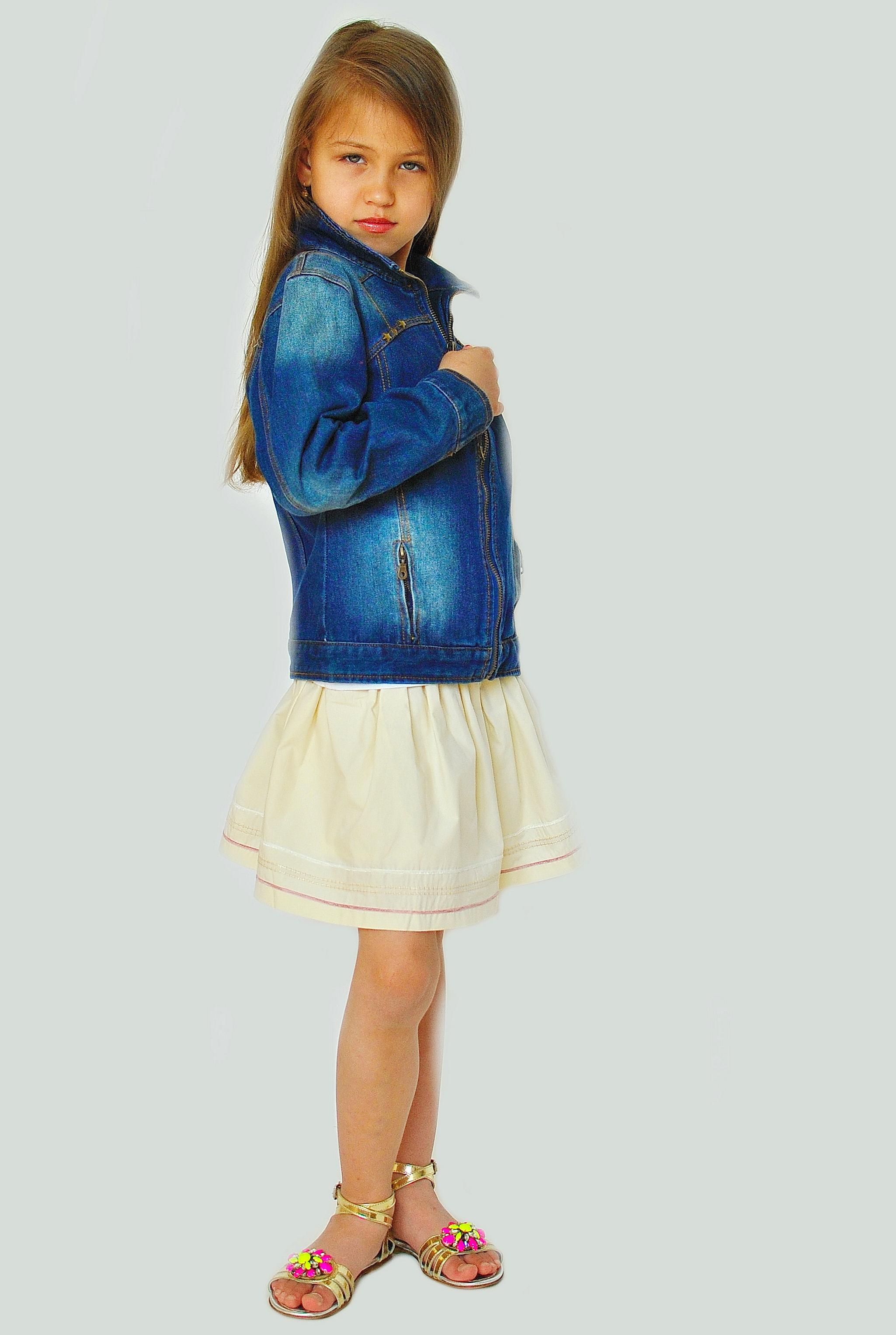Фото: 5. Пиджак джинсовый Catimini для девочек
