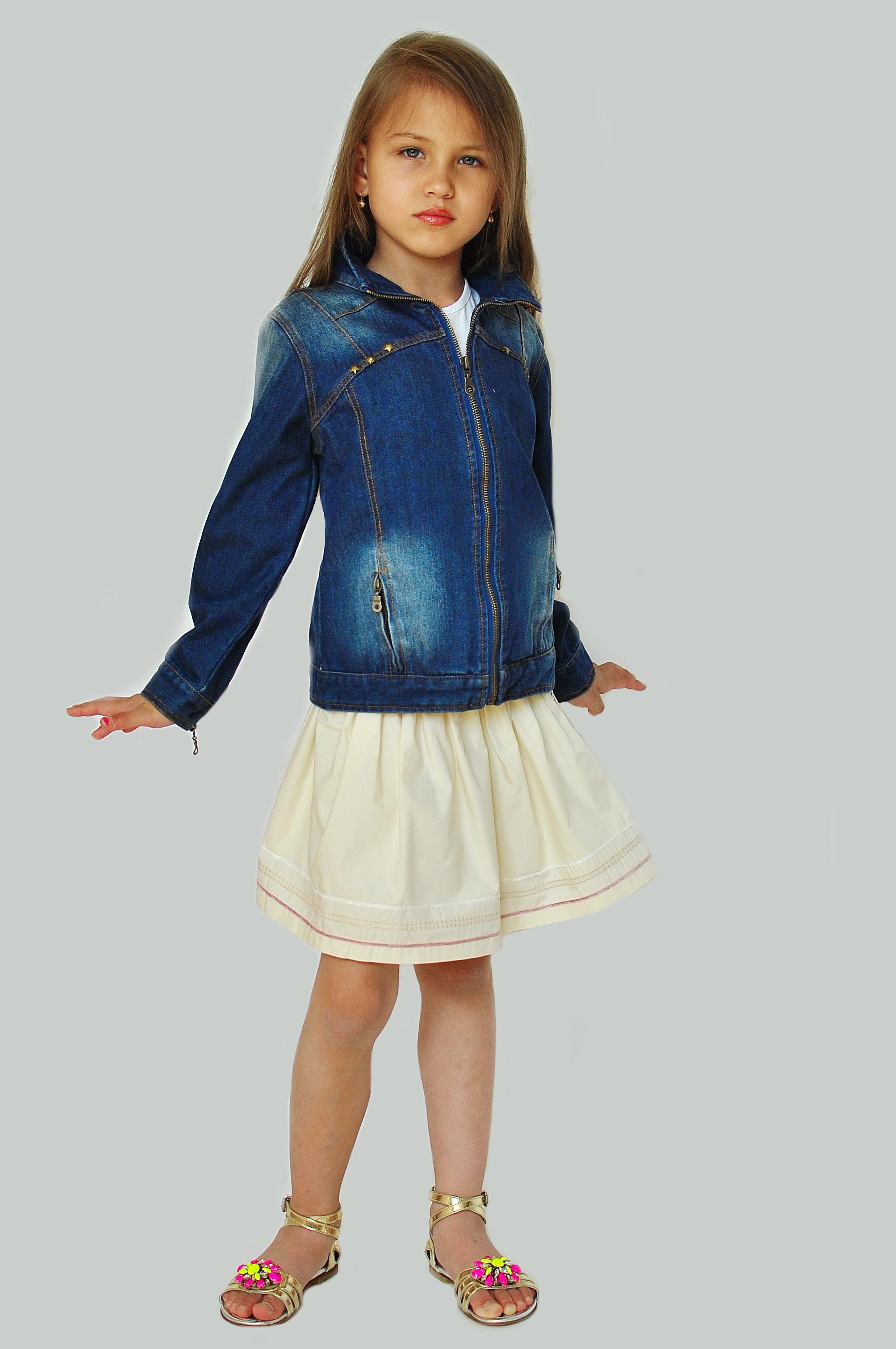 Фото: 4. Пиджак джинсовый Catimini для девочек