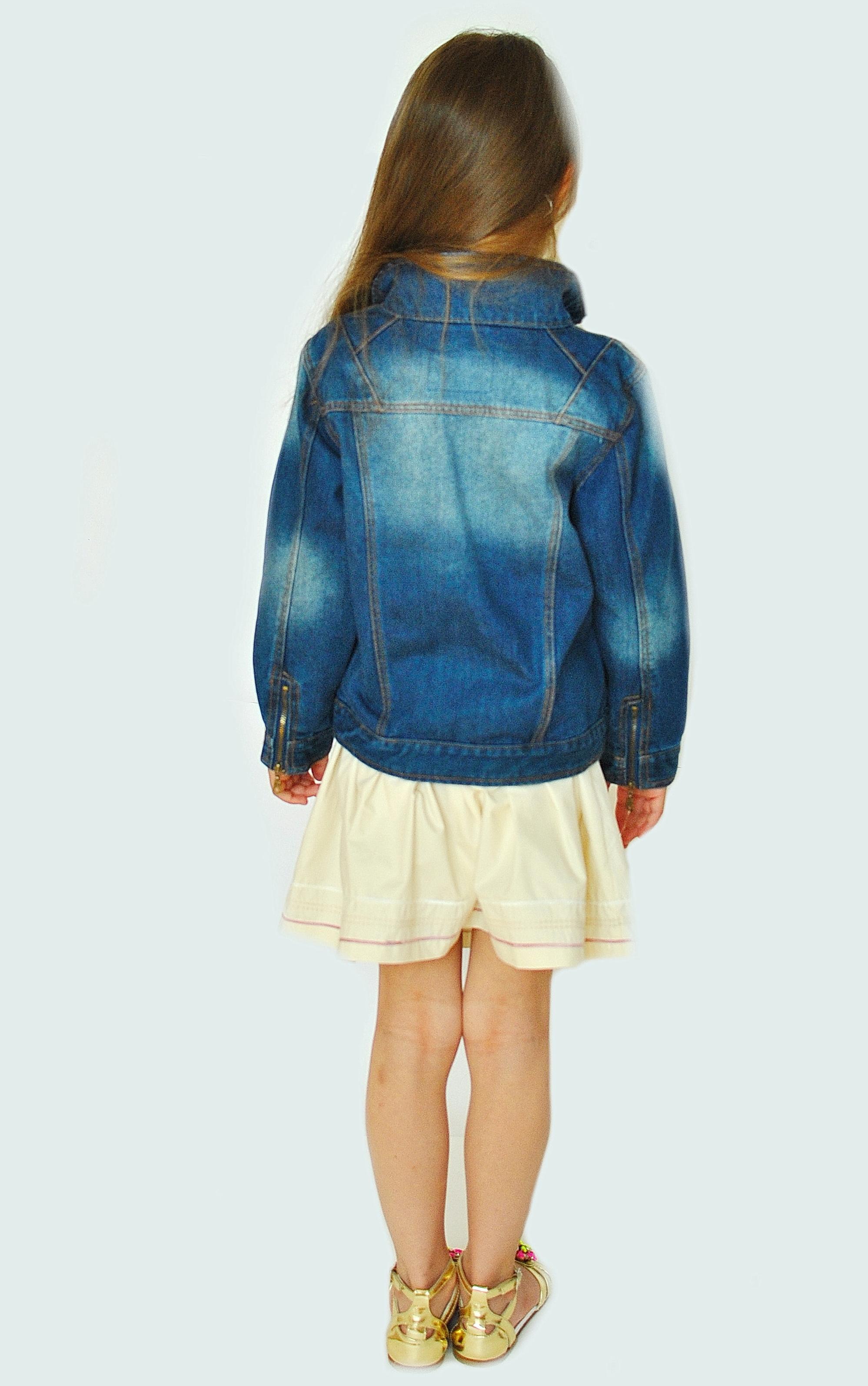 Фото: 2. Пиджак джинсовый Catimini для девочек