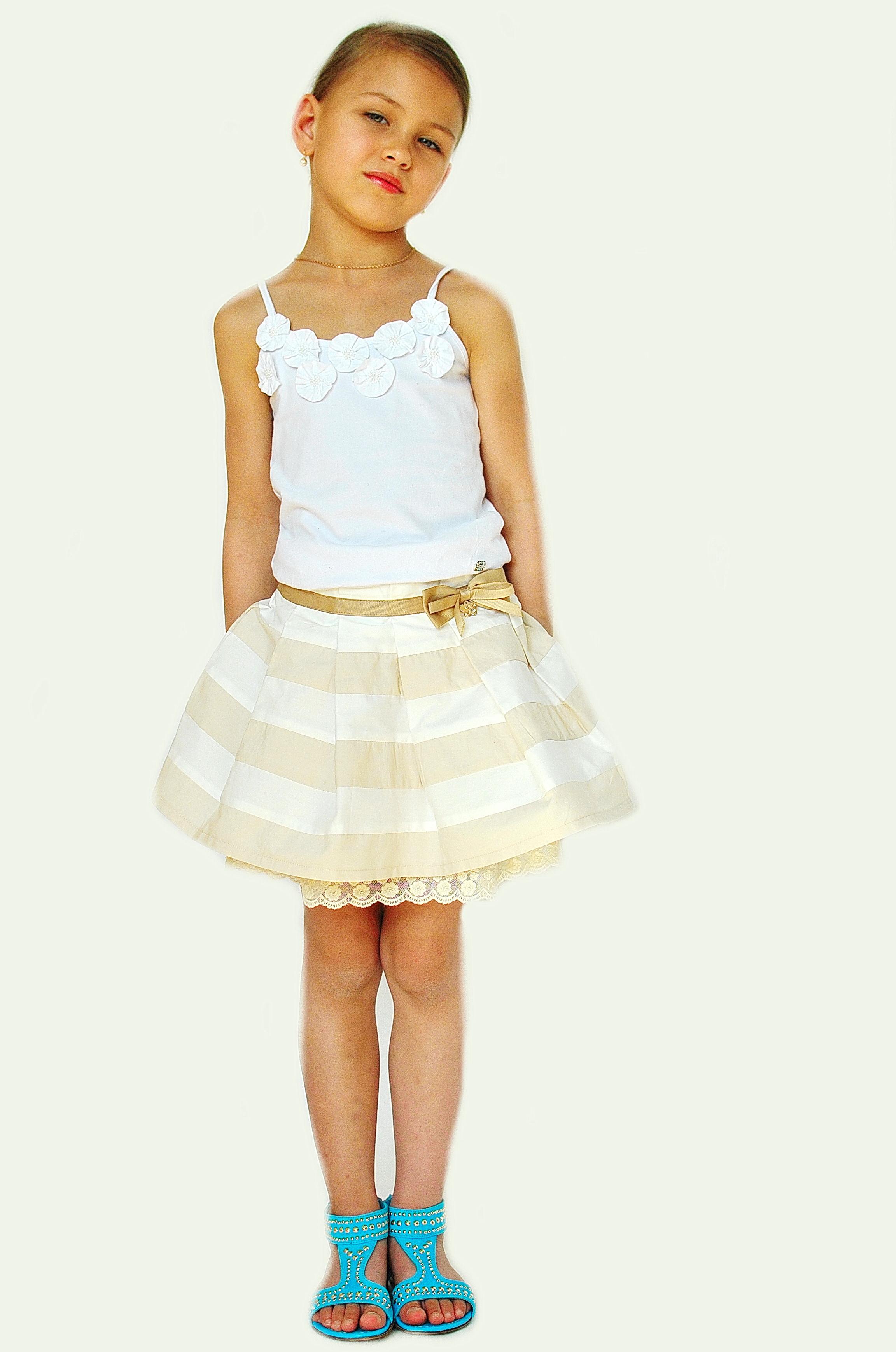 Фото 8: Модная юбка byblos для девочек