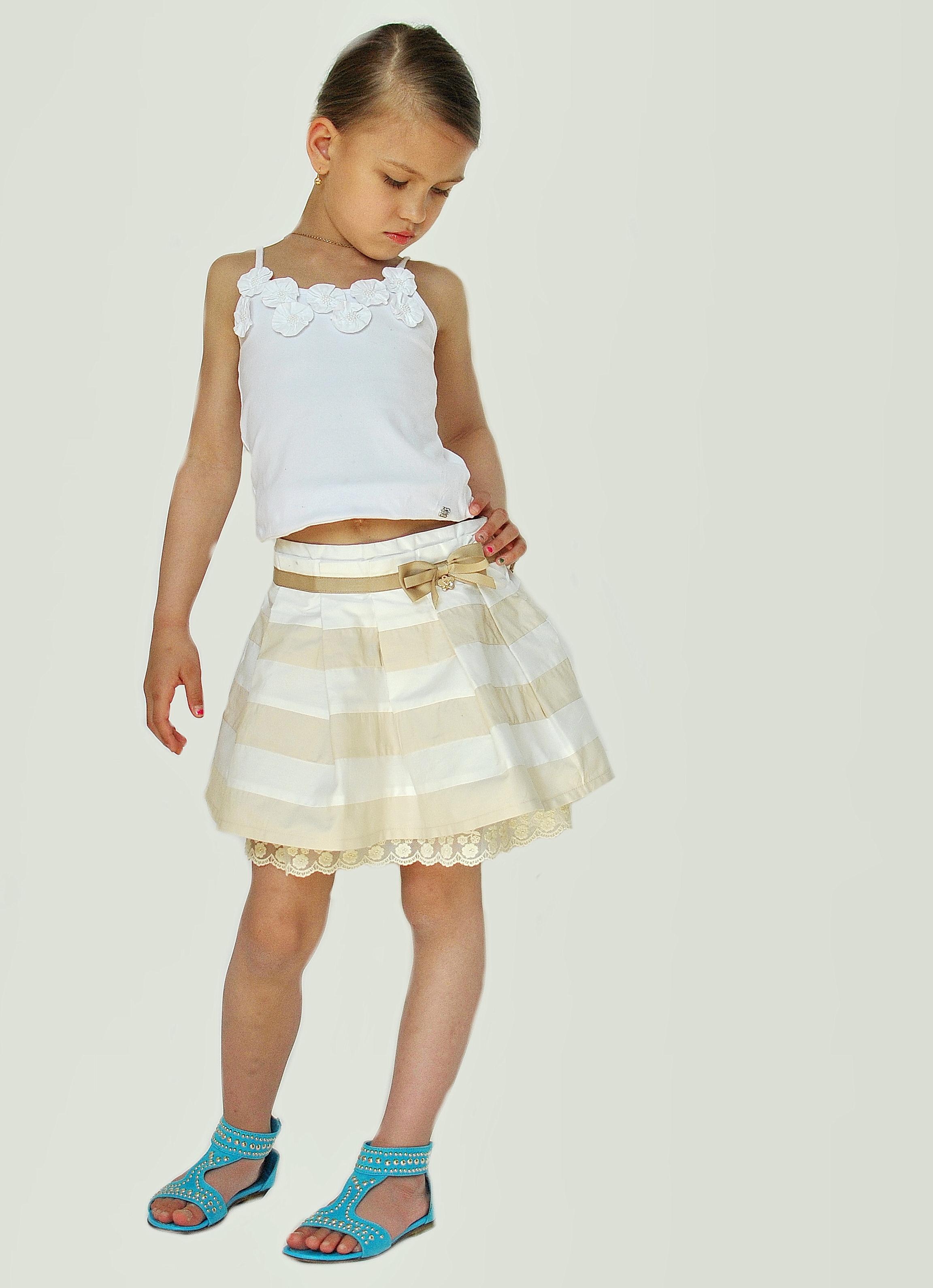 Фото 10: Модная юбка byblos для девочек