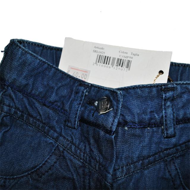 Фото 6: Классические детские джинсы Laura Biagiotti