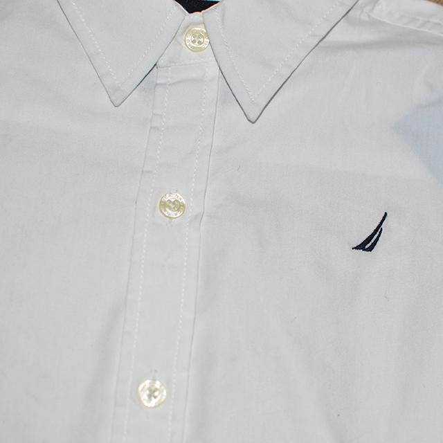 Фото 2: Классическая белая рубашка Nautica