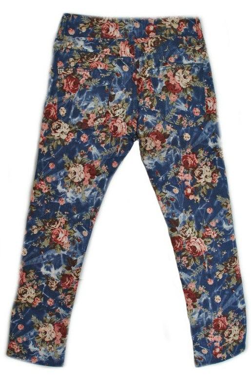 Фото 3: Яркие джинсы Catimini для девочек