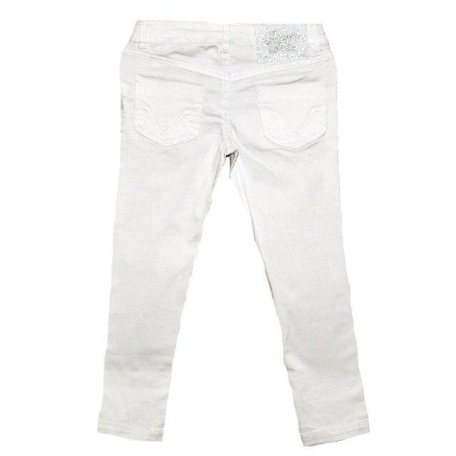 Фото 2: Белые брюки Fan-Fan для девочек