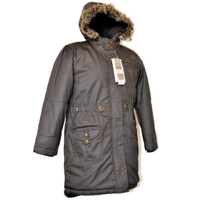 Фото 5: Качественная куртка-парка LISA ROSE для девочек