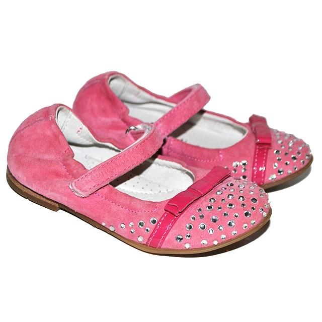 Фото 3: Розовые детские туфли Romagnoli