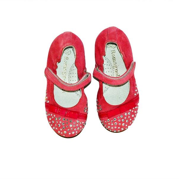 Фото 2: Розовые детские туфли Romagnoli