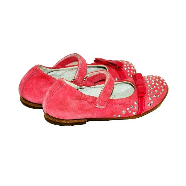 Фото 4: Розовые детские туфли Romagnoli