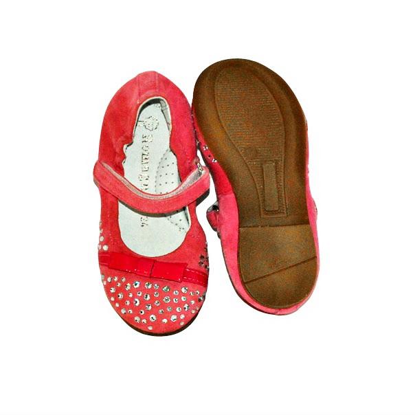 Фото 5: Розовые детские туфли Romagnoli