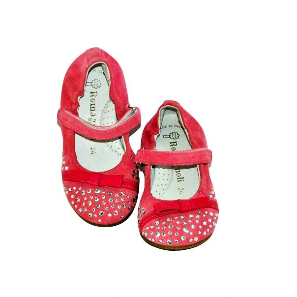 Фото 6: Розовые детские туфли Romagnoli