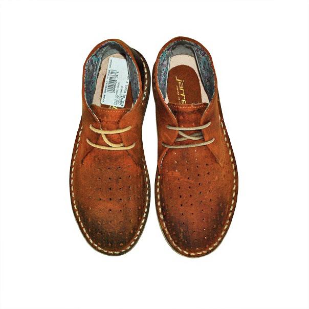 Фото 4: Кожаные итальянские ботинки Jarrett