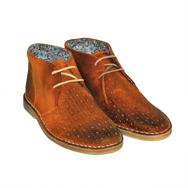Фото 6: Кожаные итальянские ботинки Jarrett