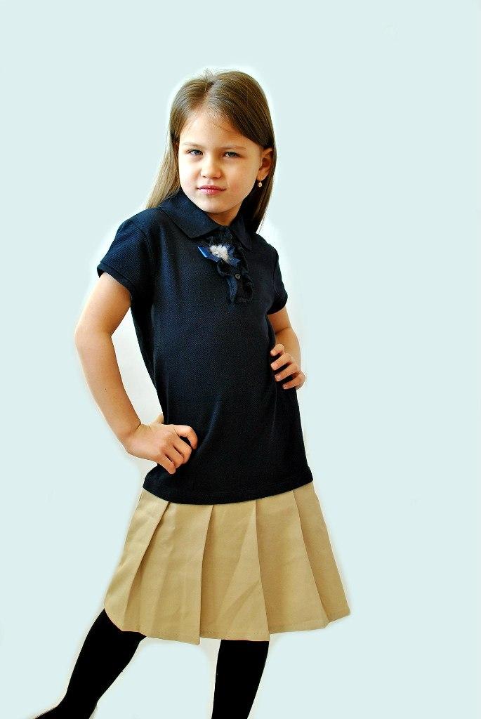 Фото 2: Нарядное платье для девочек Nautica