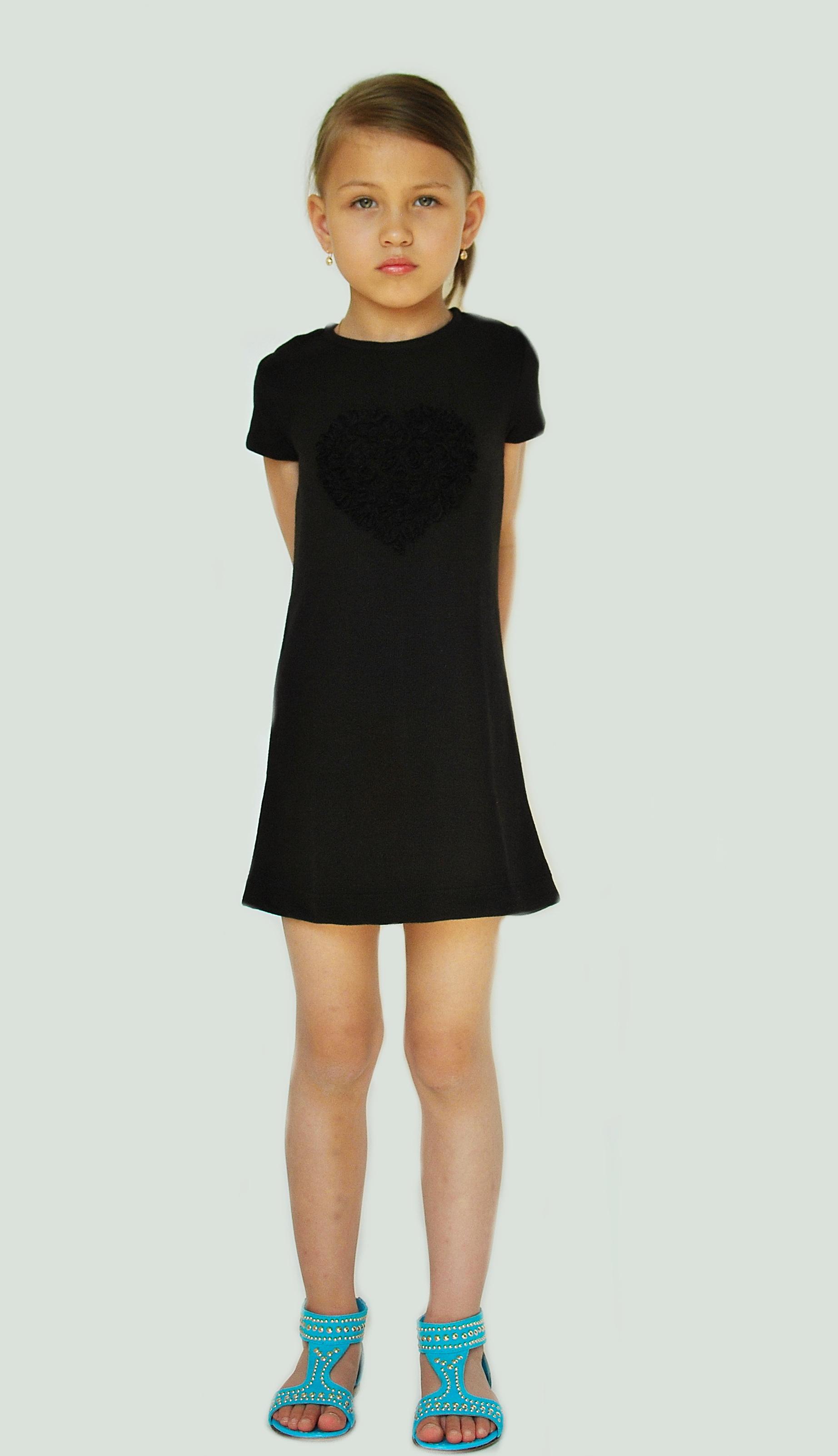Фото 3. Черное платье Bambina (Go Kids)