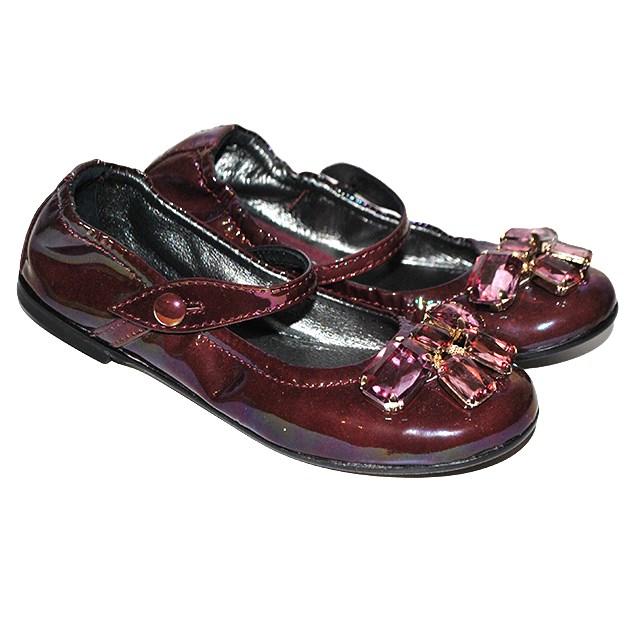 Фото 1: Туфли для девочек Simonetta лакированные