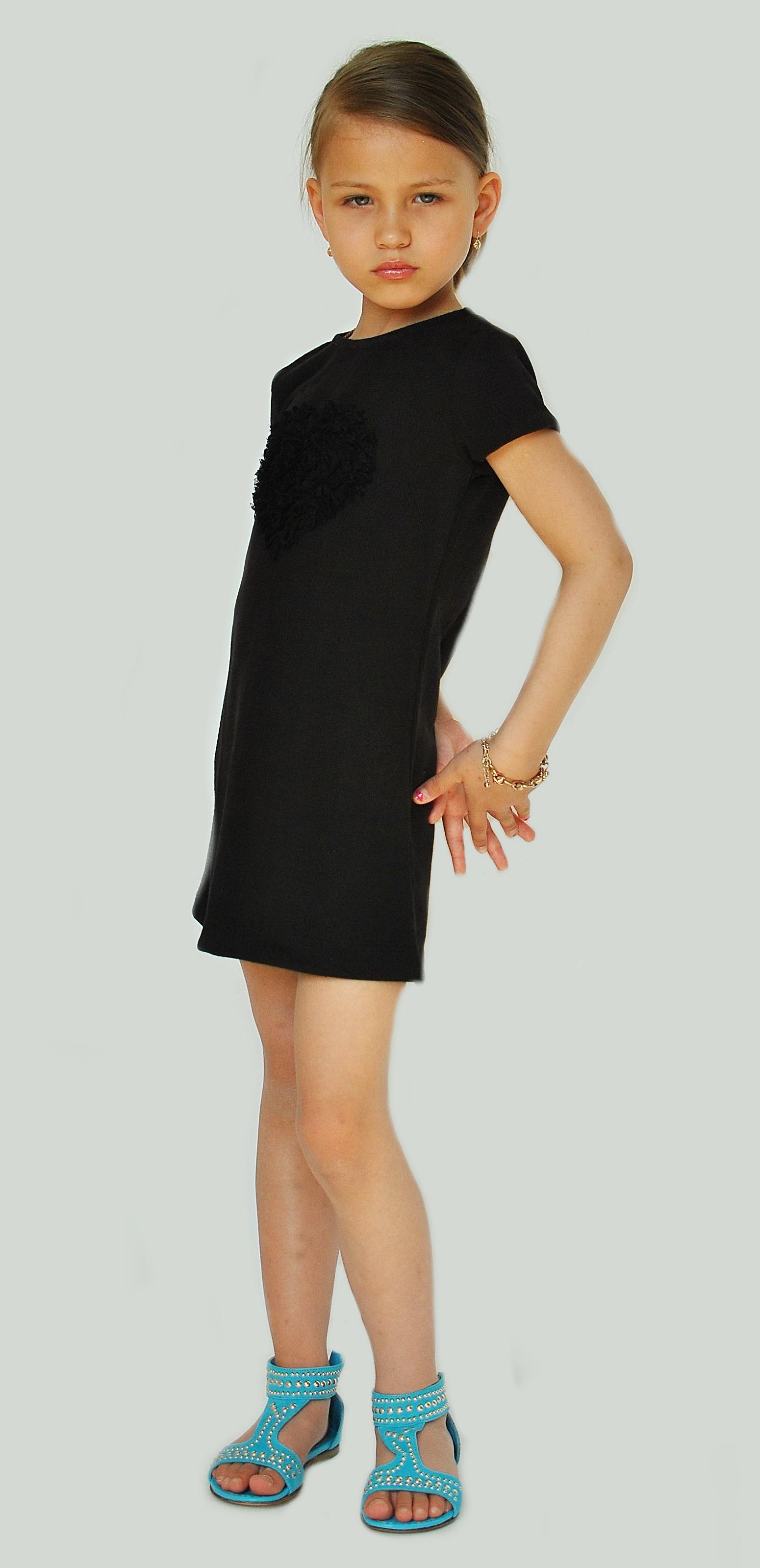 Фото 4. Черное платье Bambina (Go Kids)